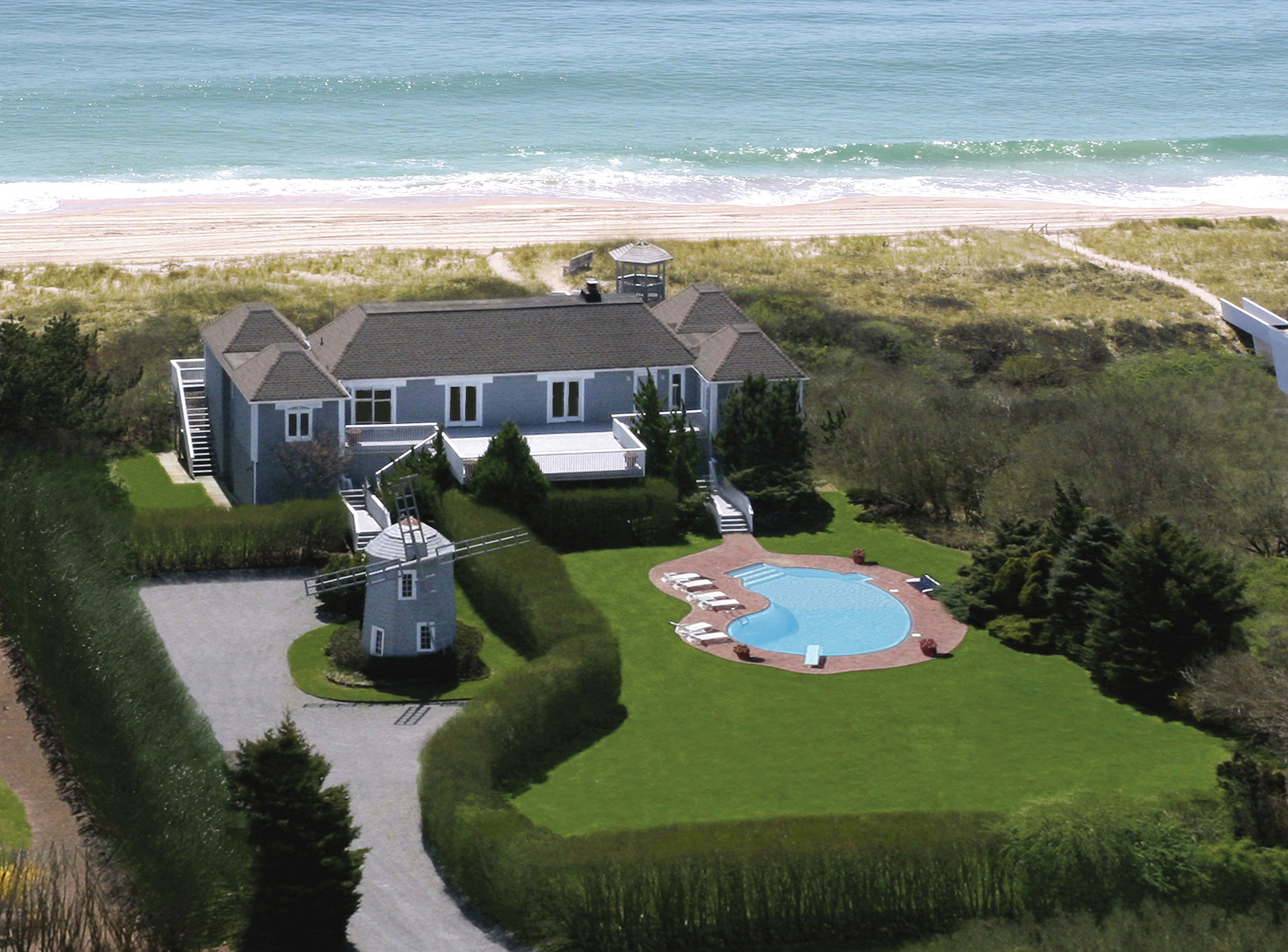 To Announce That A Prime Oceanfront Home In Bridgehampton Ny Where Former President Bill Clinton And Secretary Of State Hillary Resided During